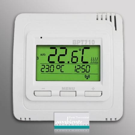 Infrarotheizung mit thermostat