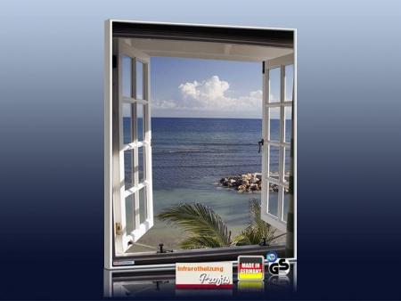 Infrarot bildheizungen 400 500 600 700 900 watt for Fenster 70x60