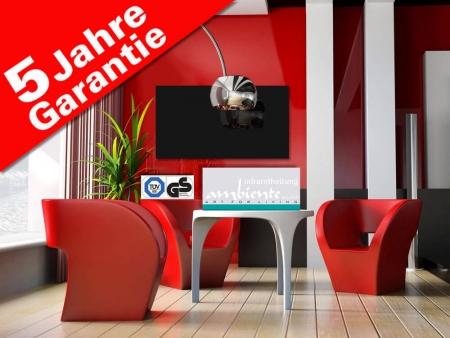 infrarotheizung rahmenlos 600 watt 110 x 60 cm schwarz. Black Bedroom Furniture Sets. Home Design Ideas