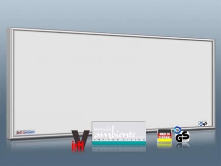 infrarotheizung 1400 watt infrarot heizk rper von infranomic. Black Bedroom Furniture Sets. Home Design Ideas
