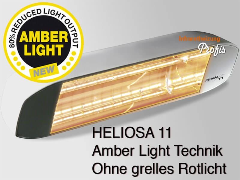 infrarot heizstrahler heliosa hidesign 11 amber light 1500 watt wei. Black Bedroom Furniture Sets. Home Design Ideas